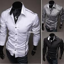 Boys Casual Dress Clothes Aliexpress Com Buy Mens Boys Luxury Casual Slim Fit Stylish