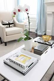 Tray For Coffee Table Large Tray For Ottoman Styling Ideas Houseology