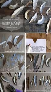 best 25 feather garland ideas on pinterest feather wall decor