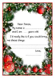 letter to santa template printable black and white exle santa claus short letter black white template christmas