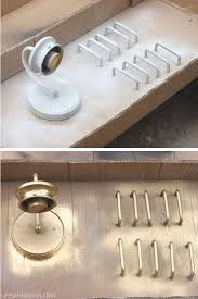 how to spray paint kitchen handles how to spray paint cabinet hardware and hinges s