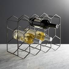 wine racks crate and barrel