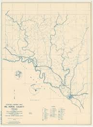 Texas State Road Map by Texasfreeway Com U003e Val Verde County