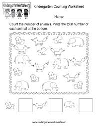 kindergarten counting worksheets free printables to koogra