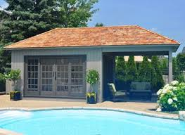 pool houses with bars modern and classic pool cabana kits get yours today