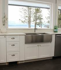 how to install farm sink in cabinet things to about buying installing a stainless steel