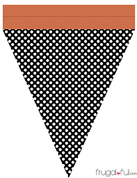 Diy Free Printable Halloween Triangle Banner Template U2013 Frugalful