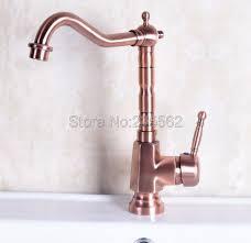 robinets de cuisine antique cuivre mitigeur froide et d eau chaude robinet de
