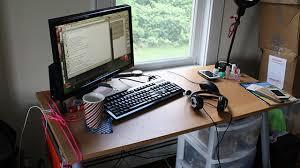 Left Handed Desk Inspiring Left Handed Desk Setup Fantastic Furniture Home Design
