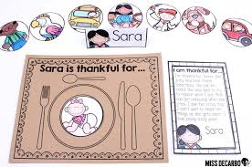 thanksgiving literacy activities ideas and freebies miss decarbo