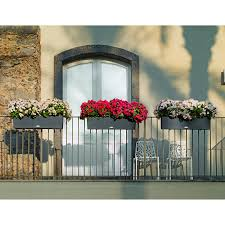 resin wicker wall and railing planters at hayneedle decorative