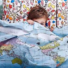 World Map Duvet Cover Uk by Kip U0026 Co Flight Path Fly The Flag Reversible Duvet Cover I