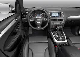 suv audi 2009 audi q5 compact crossover suv interior dashboard front