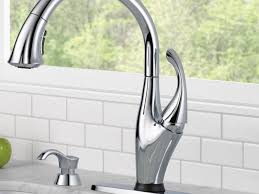 faucet delta kitchen sink faucets tall kitchen faucet with spray