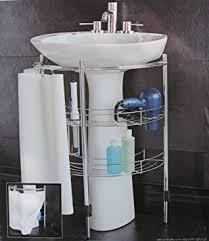 Bathroom Pedestal Sink Storage Pedestal Sink Storage Home Kitchen