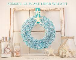 craft coastal living inspired diy wreath