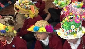 easter bonnets easter bonnet celebrations newdigate c of e endowed infant school