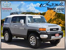 fj cruiser price certified used 2014 toyota fj cruiser for sale in boulder co