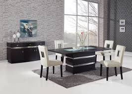 5 piece dining room sets global furniture dg072 5 piece dining room set in wenge beige by