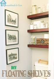 Open Shelving Bathroom by 319 Best Shelves Images On Pinterest Shelf Wall Shelves And Wood