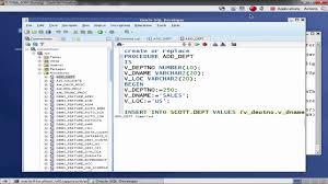 tutorial oracle stored procedure oracle db stored procedure function youtube