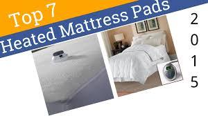 7 best heated mattress pads 2015 youtube