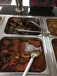 prestige cuisine jollof rice with chicken and plantain yelp