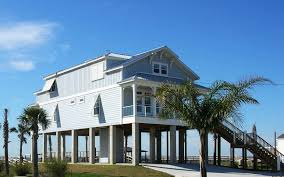 awesome designing beach house plans on pilings home improvements