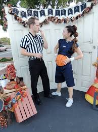 Ref Halloween Costumes Couples Halloween Costumes Pregnant Basketball Player Referee