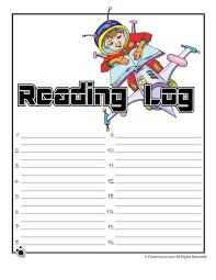 free reading log template eliolera com