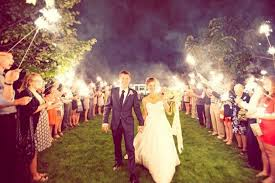 Sparklers 5 Creative Ways To Light Up Your Wedding With Sparklers Brides
