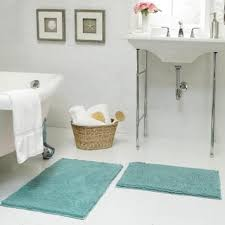 17x24 Bath Mat Resort Collection Plush Shag Chenille 17 X 24 In And 21 X 34 In