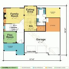 42348ml two story small house plan striking home floor plans