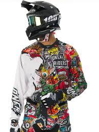 oneal black multi 2017 mayhem crank mx jersey ebay