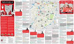 map brussels brussels guide map brussels highlights map belgium