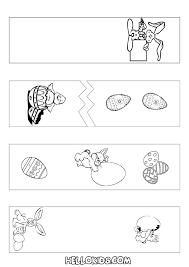 7 best images of printable bookmarks to color bunny printable