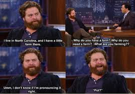 Memes About Being Awesome - zach galifianakis being awesome as usual funny
