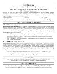 hr resume templates hr generalist resume exles paso evolist co