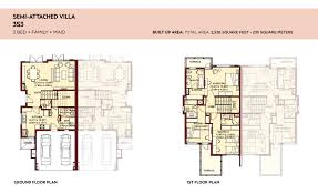 floor plans villa lantana al basha south