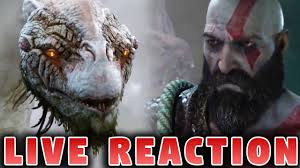 god of war 4 gameplay vr games live reaction sony e3 2017 youtube