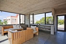Modern Industrial Decor Modern House Ushers In Industrial Style With Raw Concrete And Steel