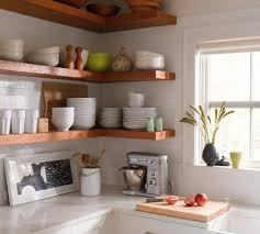 open shelving ideas stunning 24 images open shelves in kitchen ideas homes designs 38119