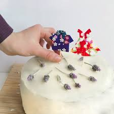 Origami Wedding Cake - diy birthday decorations origami clothes everywhere
