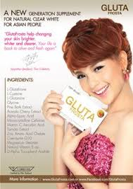 Gluta Frosta Plus Malaysia gluta frosta plus the skin care supplement from thailand which has