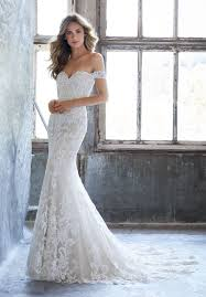 fit and flare wedding dress mori kassia style 8203 dress madamebridal com