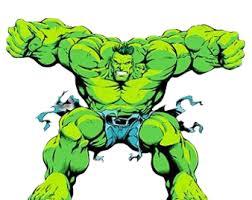 hulk superman win fight