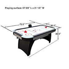 How To Clean Air Hockey Table Amazon Com Hathaway Silverstreak 5 Foot Air Hockey Game Table