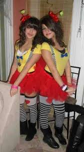 Tweedle Dee Tweedle Dum Halloween Costumes Tweedle Dee Tweedle Dum Tutu Janixilynn Zibbet