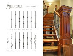 Metal Banister Spindles Stair Cool Image Of Home Interior Stair Decoration Using