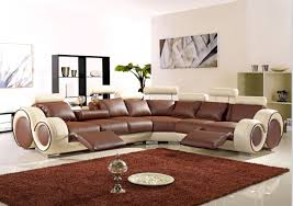 Living Room Sofa Furniture With Modern Corner Leather Sofas - Corner leather sofas